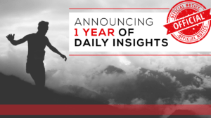 Announcing One Year of Daily Insights
