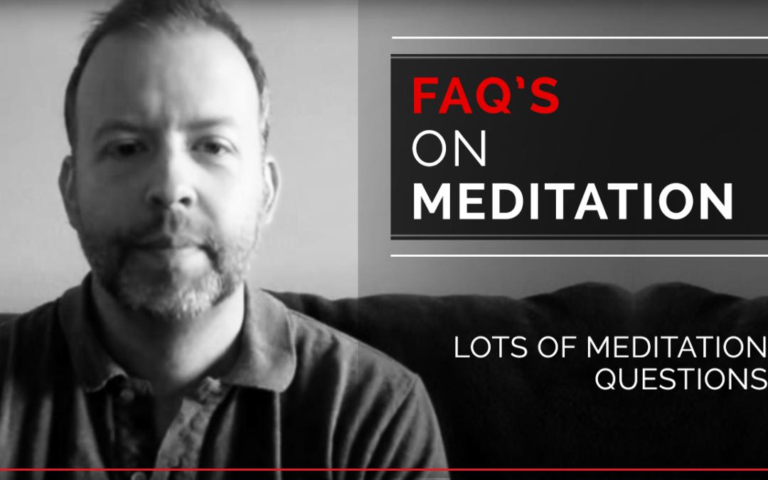 FAQs on meditation