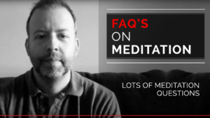 FAQs on meditation
