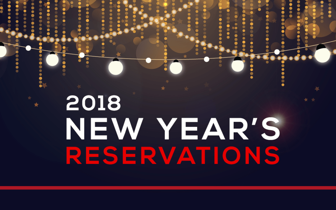 2018 New Year's Reservations