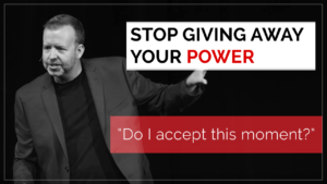 Stop Giving Away Your Power
