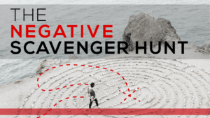 The Negative Scavenger Hunt