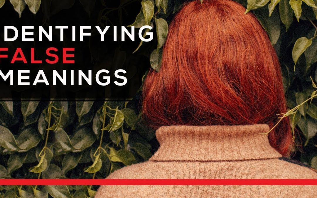 Identifying False Meanings